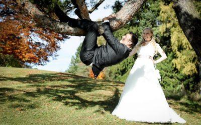 Eine Braut… die sich alles traut & ein Bräutigam, der alles mitmacht….