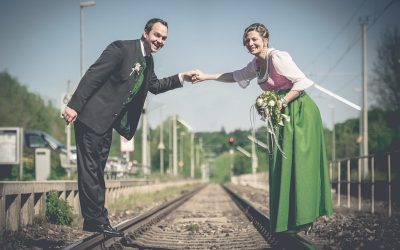 Still & heimlich Ja gesagt: Bernhard & Maria
