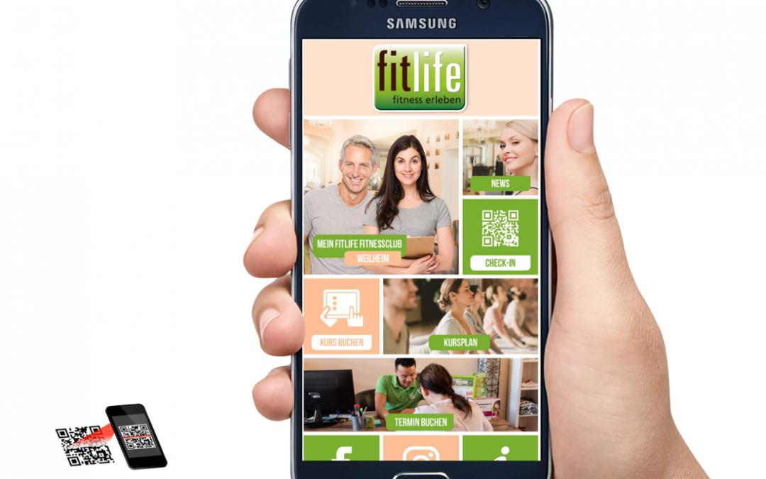 Die neue fitlife App (fitlife Weilheim & Peißenberg)